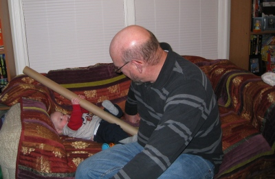 Grandpa And Kivrin And Tube