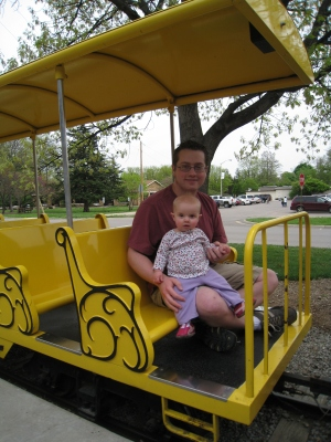 gage-park-mini-train-with-daddy