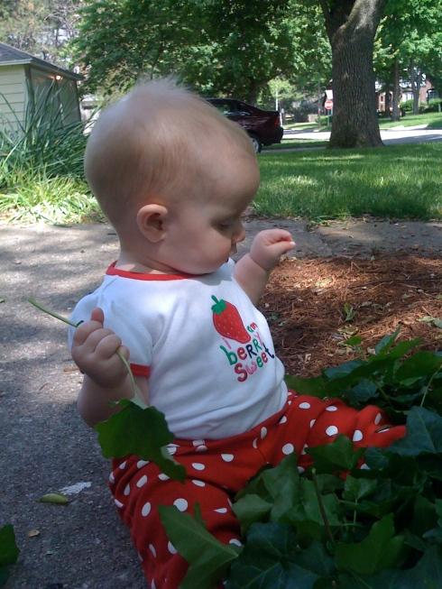 gardening baby 2