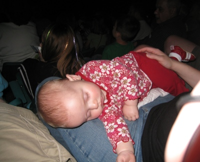 kivrin napping at the circus
