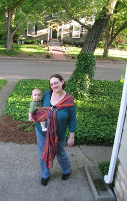 the season for walking and baby carriers