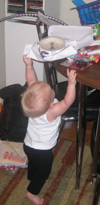 kivrin can reach stuff on the table
