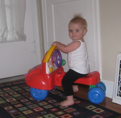 kivrin on her bike