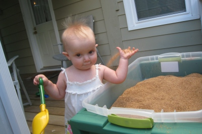 kivrin throwing sand