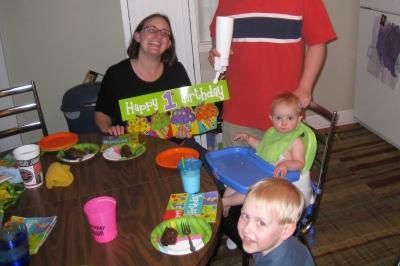 kivrins belated birthday party