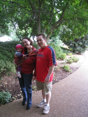 family at shaws gardens
