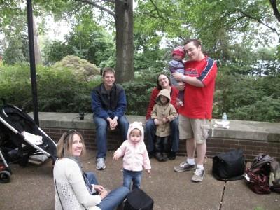 kids meet up at shaws garden