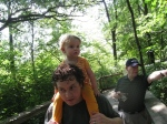 dada kivrin and grandpa looking atmonkeys2