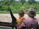 kivrin and grandma watchinggiraffes2