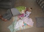 papa playing babies withkivrin2